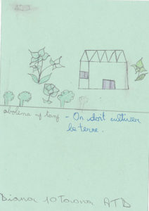 Diana 10 y.o. 'We must cultivate the land'