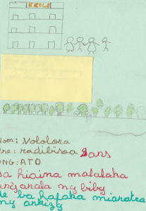 Radibisoa 9 y.o. 'In order that the animals can live freely in the forest and that the children can go to school'